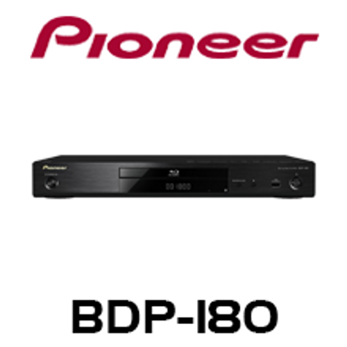 Pioneer BDP-180 Network 3D Blu-Ray Player with 4K Video Upscaler