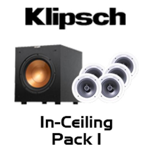 Klipsch R-1650-C 5.1 In-Ceiling Speaker Pack
