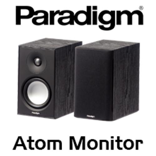 """Paradigm Atom Monitor v7 5.5"""" 2-Way Bass Reflex Bookshelf Speakers (Pair)"""