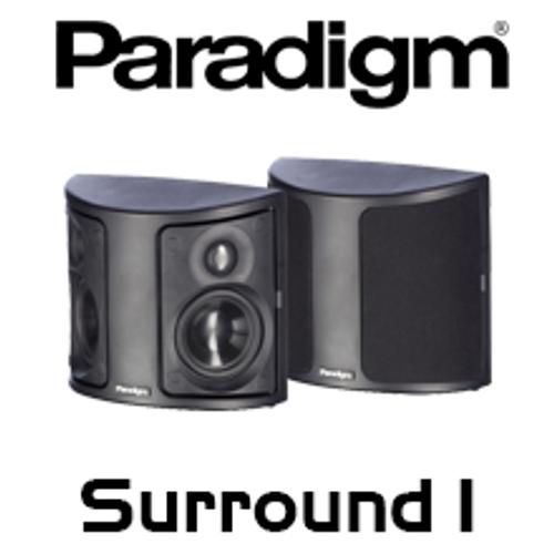 """Paradigm Surround 1 v7 Dual 4.5"""" 2-Way Surround Speakers (Pair)"""