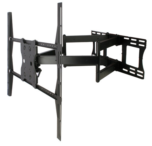 """Strong Contractor Series X-Large Dual Arm Articulating Wall Mount for 47"""" - 90"""" Flat Display"""