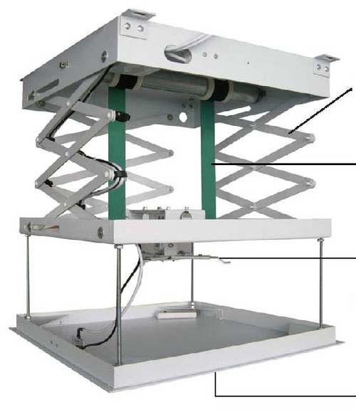 Ergomotion Motionlift Motorized Projector Lift To Suit Most Sizes Of Projectors