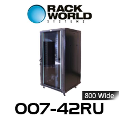 RWS 007 42RU Tall 800 Wide Communications & Network Cabinet