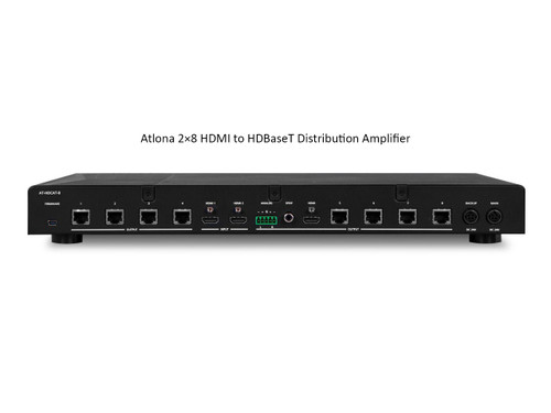 Atlona 2×8 HDMI to HDBaseT Distribution Amplifier