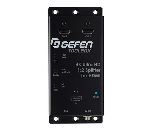 Gefen Toolbox 1:2 Splitter for HDMI Ultra HD 4K x 2K with Cascading