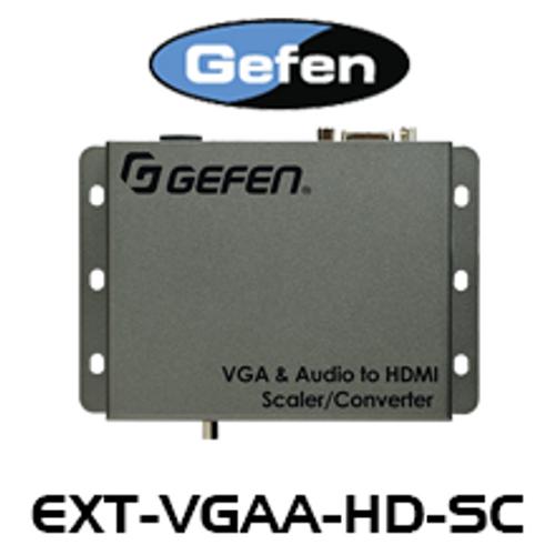 Gefen VGA & Audio to HDMI Scaler / Converter
