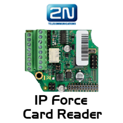 2N Helios IP Force 125kHz Card Reader + Tamper Module