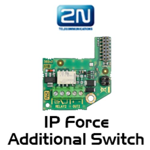 2N Helios IP Force Additional Switch + Tamper Module