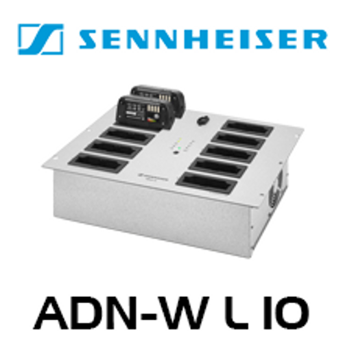 Sennheiser ADN-W L 10 Rack Mount Charger Unit (10 Slots)