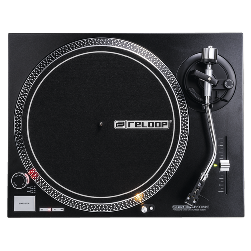 Reloop RP-2000 MK2 Quartz-Driven DJ Turntable with Direct Drive