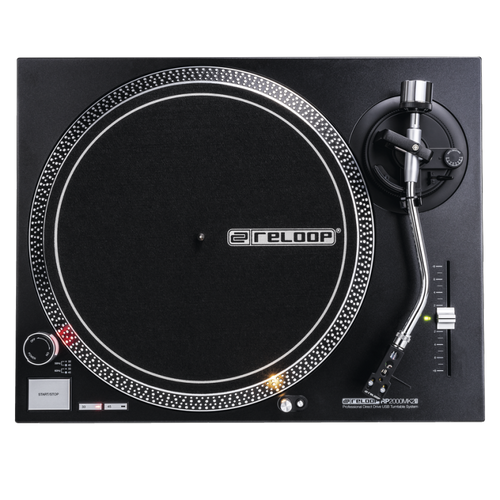 Reloop RP-2000 USB MK2 Quartz-Driven DJ Turntable With USB Audio Output