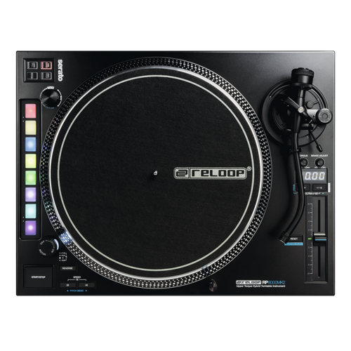 Reloop RP-8000 MK2 Hybrid DJ Turntable with Serato Midi Controls