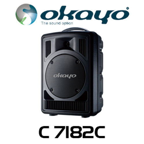 Okayo C7182 Compact 60 Watt Portable PA System