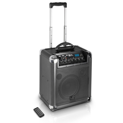 "LD Systems RJ10 RoadJack 10"" Battery Powered Bluetooth Speaker w/ Mixer"