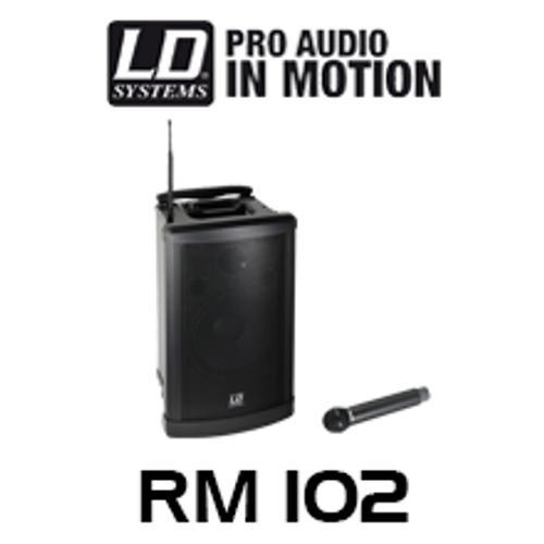 "LD Systems RM102B6 RoadMan 10"" Battery Powered Portable PA Speaker"