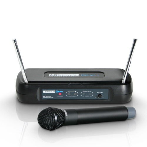 LD Systems WSECO2HHD/BPH Wireless Microphone System