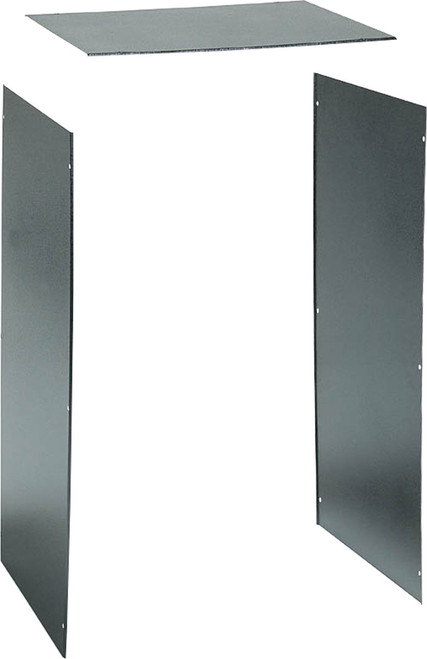 "AVA 450 / 600mm Deep 19"" Rack Frame Panel Set"