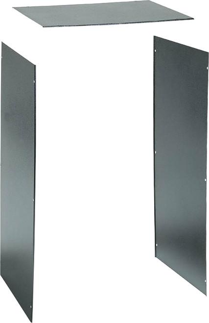 "AVA 450 / 600mm Deep 19"" Rack Frame Panel Set"