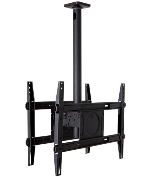 "OmniMount DCM250 Dual 32-65"" TVs Tilt Commercial Ceiling Mount"