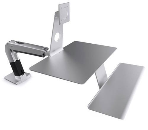 "OmniMount WorkFit-A Sit/Stand Desk Mount For Apple Monitor (Up to 27"")"