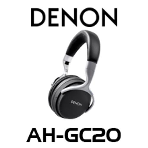 Denon AHGC20 Wireless Noise Cancelling Over-Ear Bluetooth Headphones