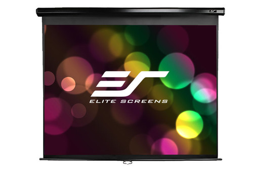 "Elite Screens MaxWhite Manual Pull-Down Projection Screen (71 - 170"")"