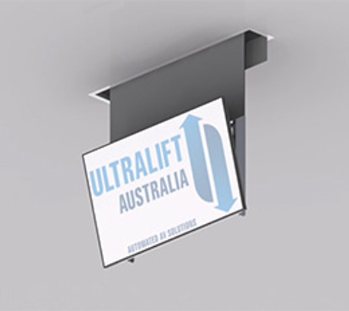 Ultralift Descender Drop With Auto Tilt Ceiling TV Lift