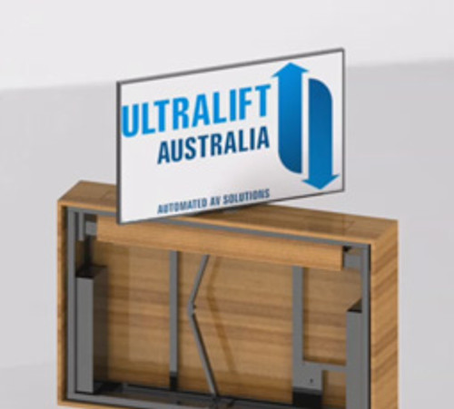 Ultralift Elevator Swivel Vertical Screen Lift With Motorised Swivel