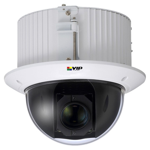 VIP Vision 2.0MP IK10 PTZ Recessed Mount Mini Dome IP Camera