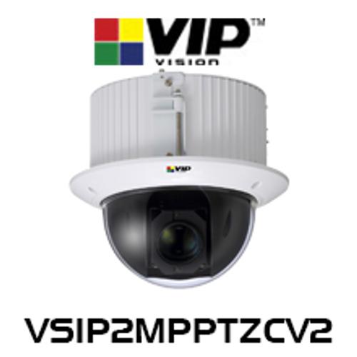 VIP Vision 2.0MP IK10 PTZ Recessed Mount Mini Dome IP Camera