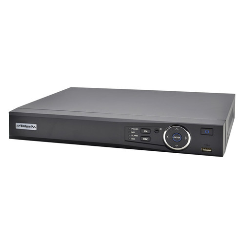WatchGuard Compact 8 Channel Network Video Recorder with PoE (80Mbps)