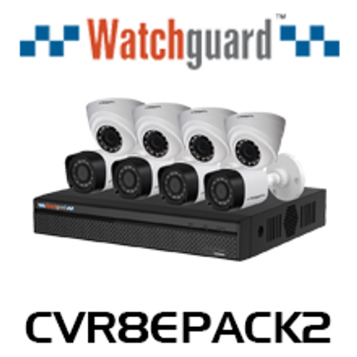 WatchGuard Compact 8 Channel 1.0MP Surveillance Kit