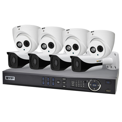 VIP Vision Professional 8 Channel 2.0MP IP Surveillance Kit