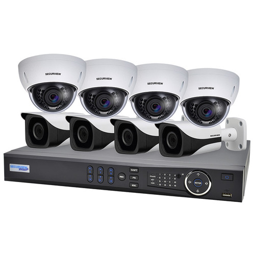 SecurView 8 Channel 1080p HDCVI Analogue Surveillance Kit