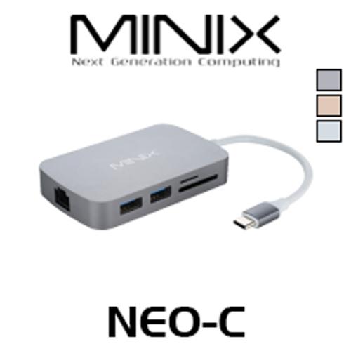 Minix NEO-C HDMI / VGA Output USB-C Multiport Adapter