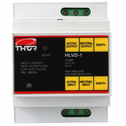 Thor HLVD 20Amp Hard Wired DIN Rail Mount High Low Voltage Protection