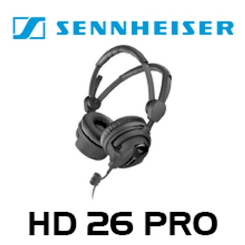 Sennheiser HD26PRO Professional Broadcast Closed On-Ear Headphones