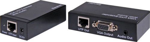 Dynalink VGA + Audio Over Cat5/6 UTP Balun Kit (up to 300m)