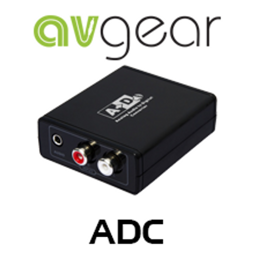 AVGear ADC Analogue To Digital Audio Converter