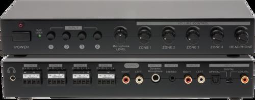 Pro.2 PRO1323 4 Source 4 Zone Stereo Audio Power Amplifier