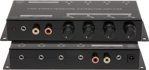 Pro.2 PRO1340 4-Way Headphone Amplifier