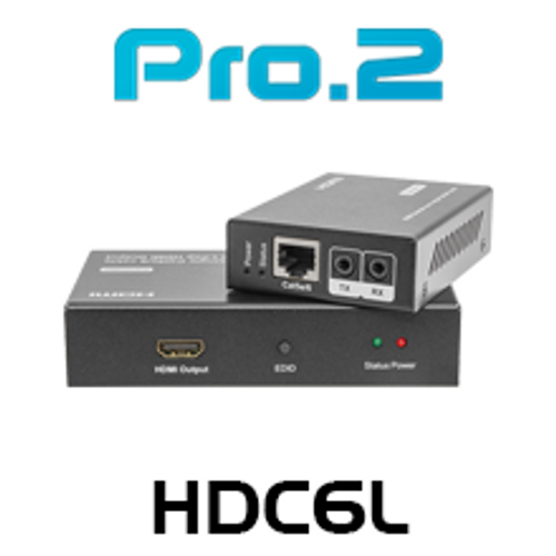 Pro.2 HDC6L HDMI Over Single Cat6 Extender with IR (50m)