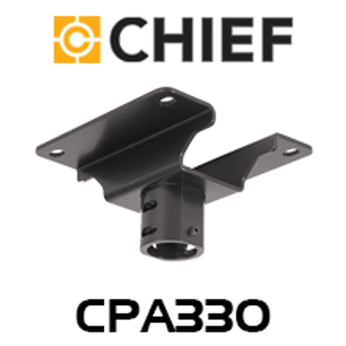 "Chief CPA330 Pin Connection 8"" Offset Ceiling Plate"