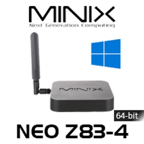 MINIX NEO Z83-4 4K 64-bit WIndows 10 Fanless Mini PC