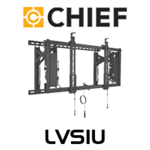 """Chief ConnexSys 42-80"""" Video Wall Landscape Mounting System with Rails"""