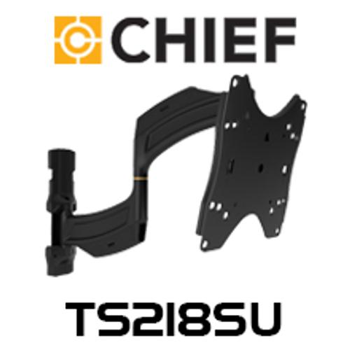"Chief  TS218SU Medium 26-47"" Thinstall Dual Swing Arm TV Wall Mount (18"" Extension)"
