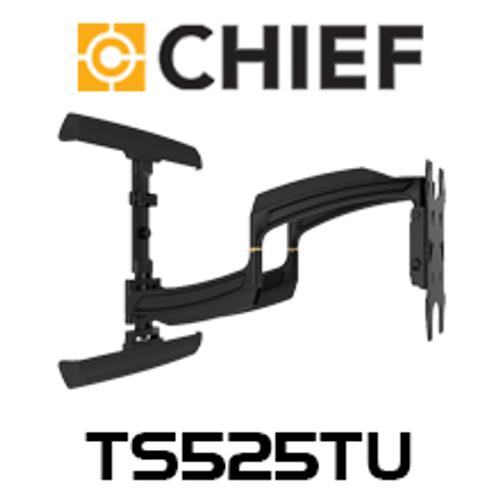 "Chief TS525TU Large 37-58"" Thinstall Dual Swing Arm TV Wall Mount (25"" Extension)"