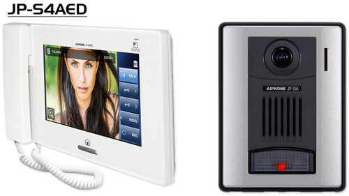 Aiphone JP-S4AED Series Front Door Video Intercom - Kit