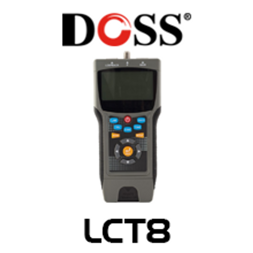 Doss LCT8 Pro Coax & LAN Cable Tester