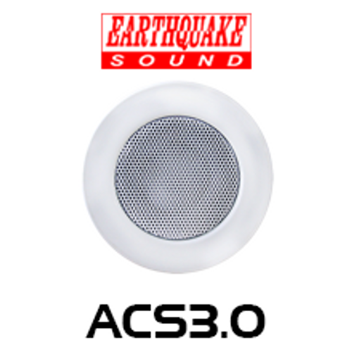 """Earthquake ACS3.0 3"""" Architectural Closed Back In-Ceiling Speaker (Each)"""